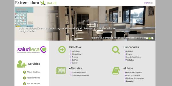 Biblioteca Virtual del Sistema Sanitario Público de Extremadura