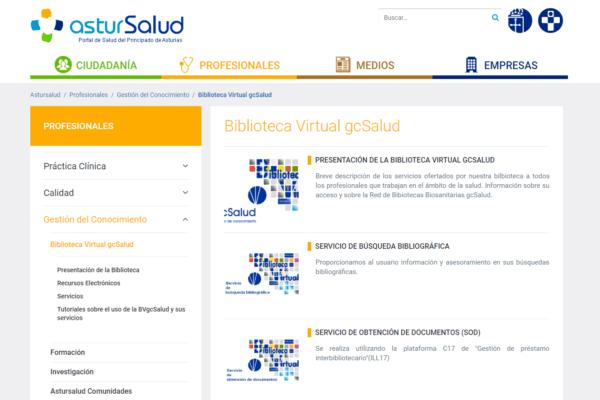 Biblioteca Virtual gcSalud