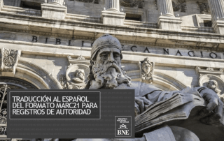 Biblioteca formato MARC 21 registros autoridad