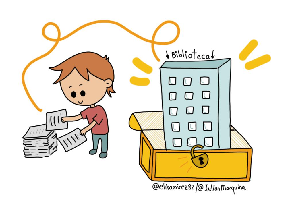 Las bibliotecas son necesarias e imprescindibles para la sociedad. Sin ellas no habría memoria ni igualdad de acceso a la información