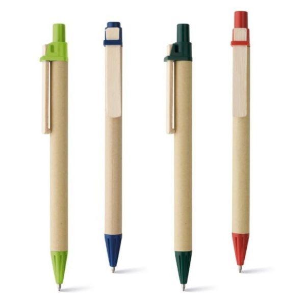 Bolígrafo personalizado de papel kraft