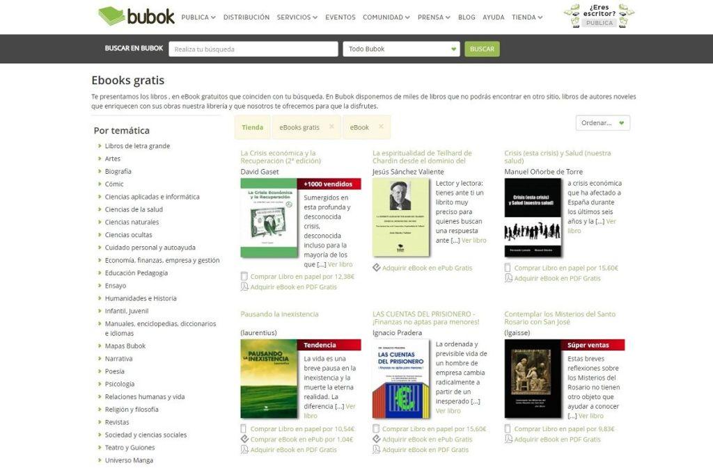 Bubok libros electronicos gratuitos para su descarga