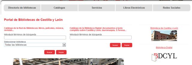 Buscador Catálogo - BPCyL
