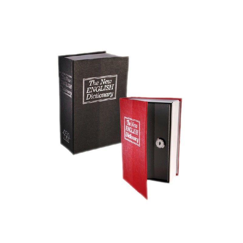 Caja de caudales camuflada en diccionario