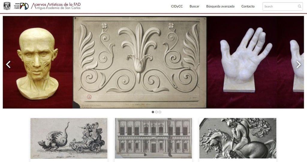 Catálogo Digital de Colecciones de la Facultad de Artes y Diseño