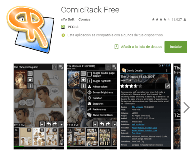 ComicRack for Android