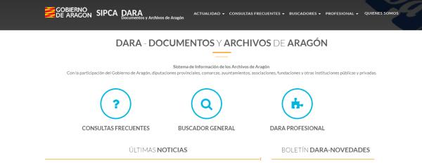 DARA Documentos y Archivos de Aragón