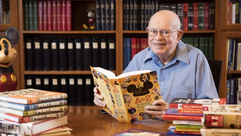 Dave Smith fue el fundador de los Archivos de Walt Disney