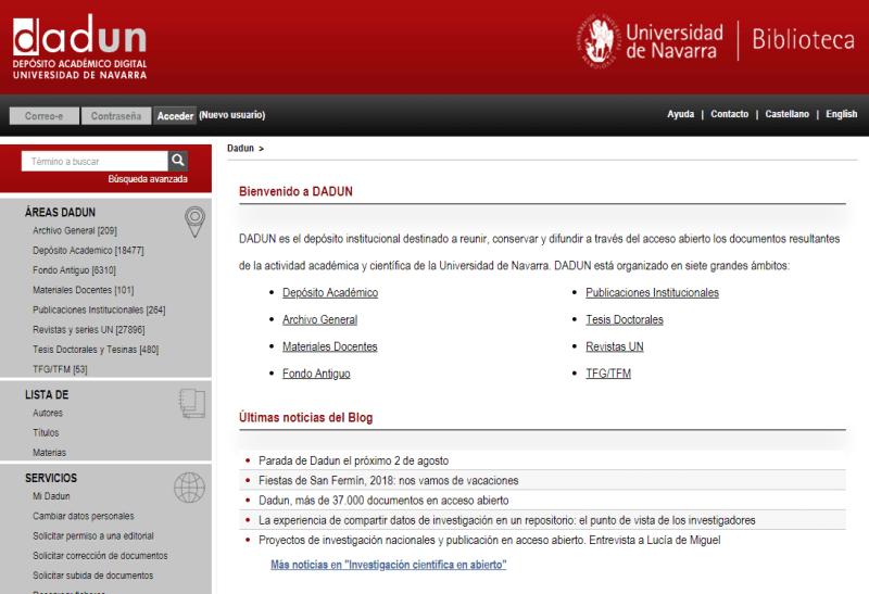 Depósito Académico Digital Universidad de Navarra -DADUN