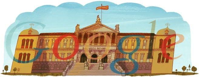 Doodle Biblioteca Nacional de España