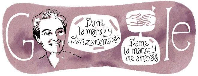 Doodle Gabriela Mistral