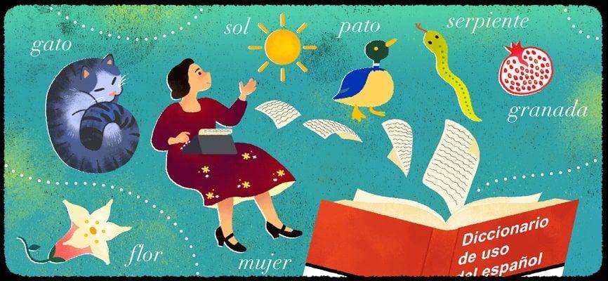 Doodle María Moliner