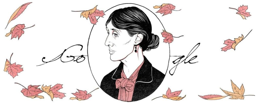 Doodle Virginia Woolf