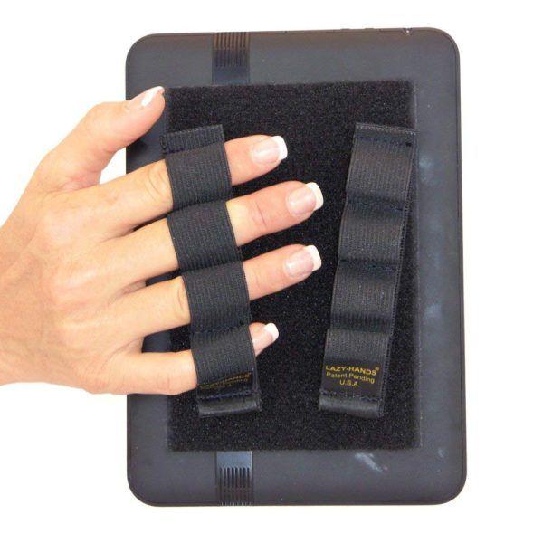 Empuñadura para prevenir calambres y caídas del eReader