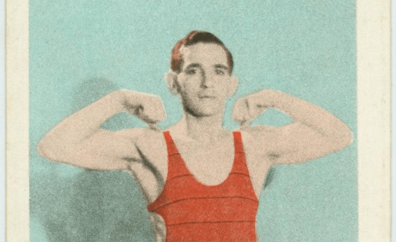 Exercise 1. Developing the biceps (The New York Public Library. Digital Collections)