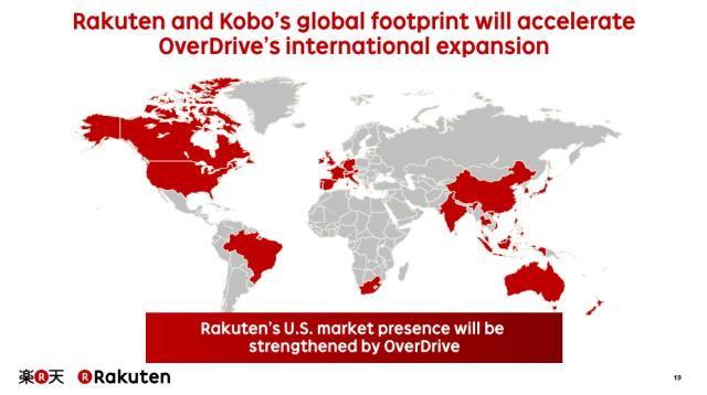 Expansión Internacional planeada con OverDrive