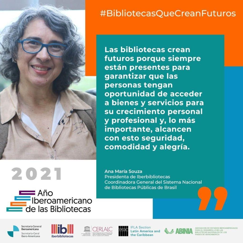 Frase Año Iberoamericano de las Bibliotecas