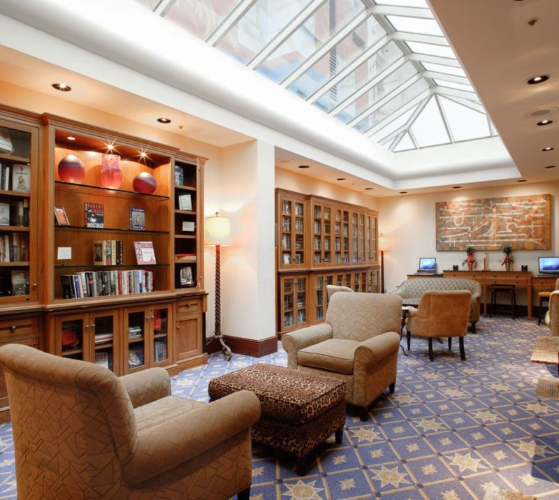 Heathman Hotel Library