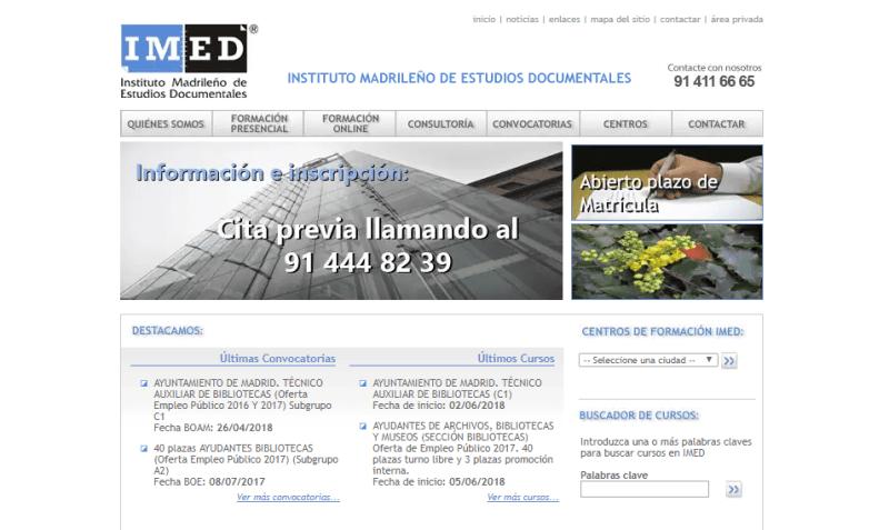 IMED – Instituto Madrileño de Estudios Documentales
