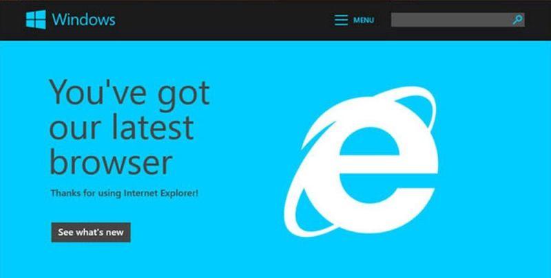 Internet Explorer navegador web