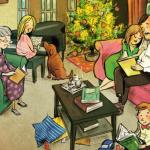 Jólabókaflóð regalar libros en Nochebuena Navidad