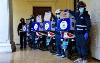 La Biblioteca Nacional del Perú pone en marcha el servicio de reparto de libros a domicilio en motocicleta