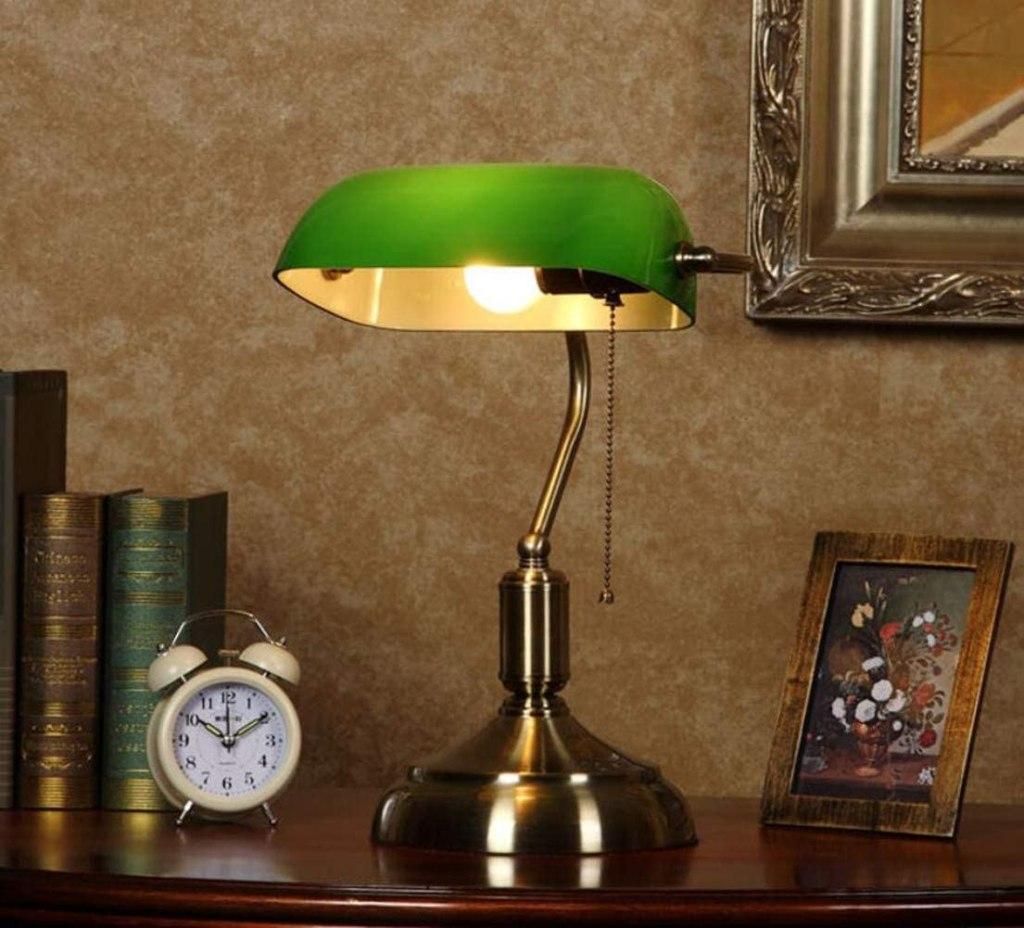 Lámpara de lectura vintage