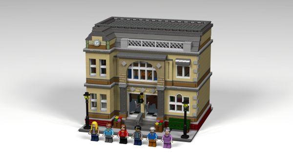 Lego University Library