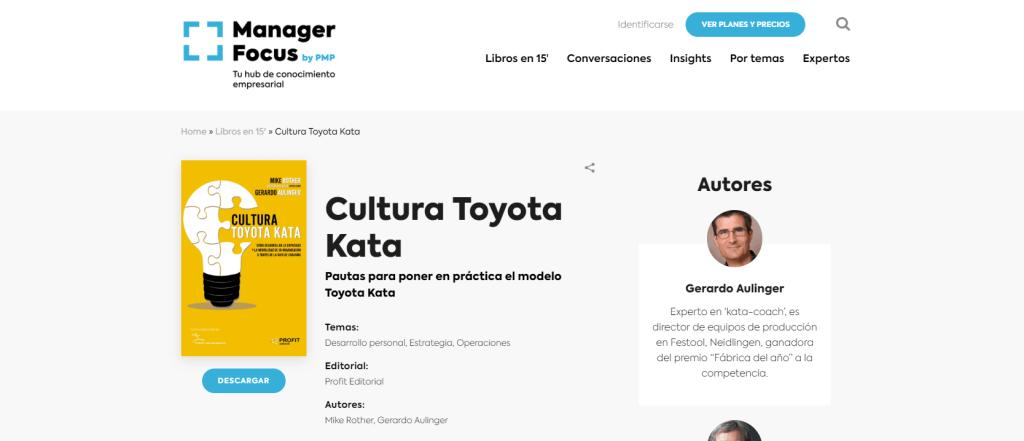 Libro - Manager Focus