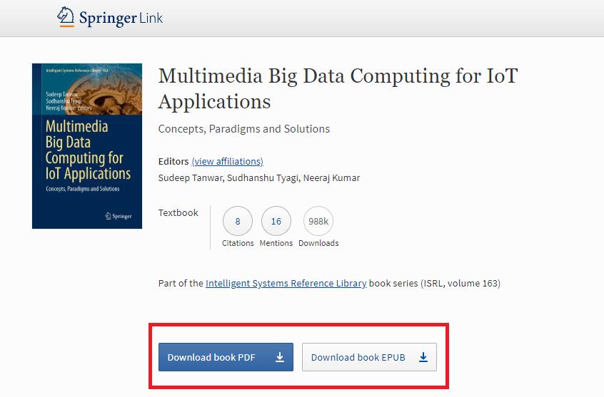Libro de texto gratuito de Springer Nature en SpringerLink