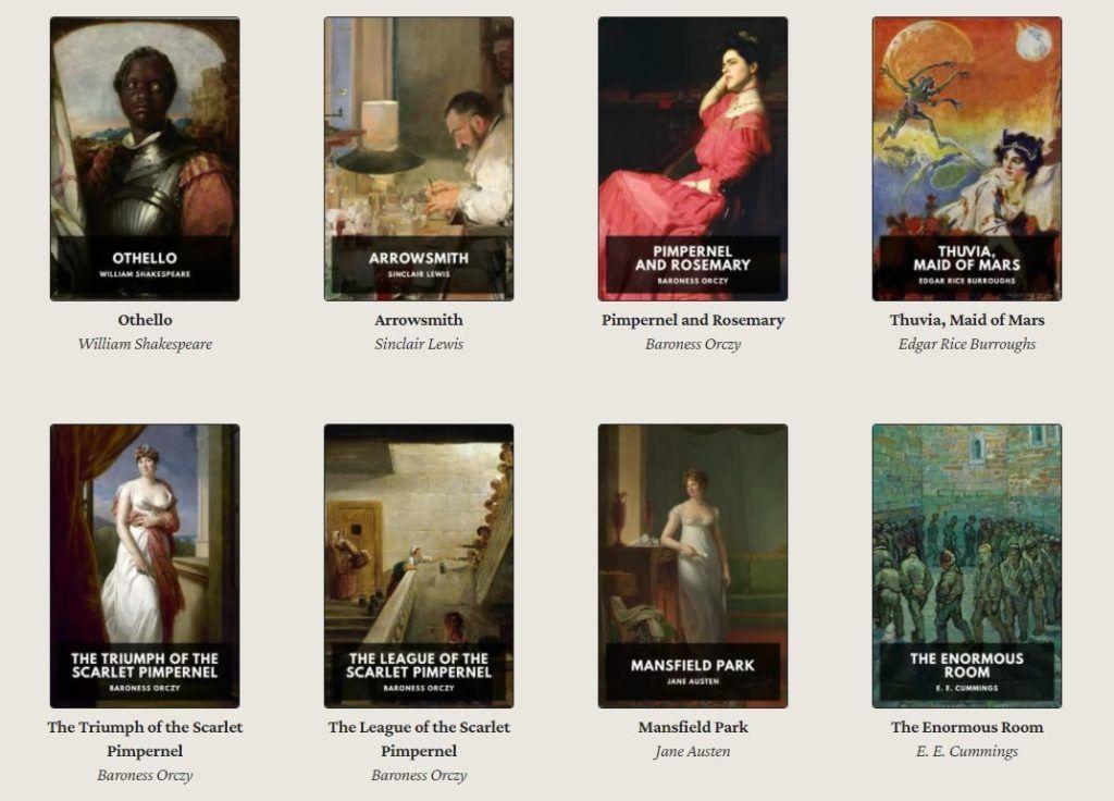Libros digitales en dominio público Standard Ebooks