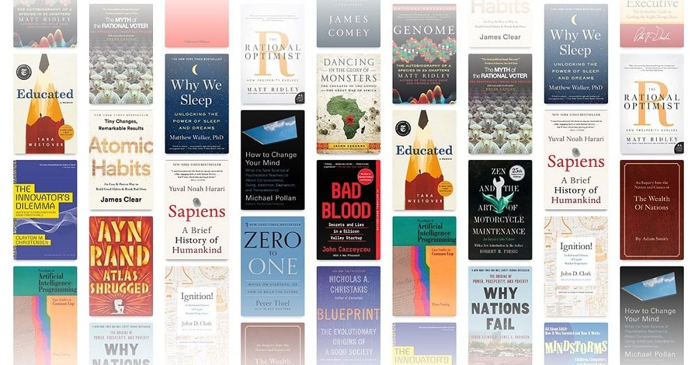Libros recomendados por personas famosas