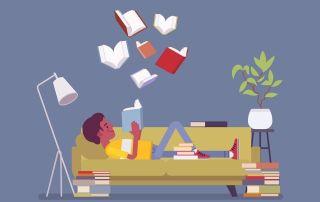 Los libros son para disfrutarlos. Para saborearlos lenta y pausadamente