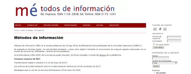 Métodos de Información (MEI)