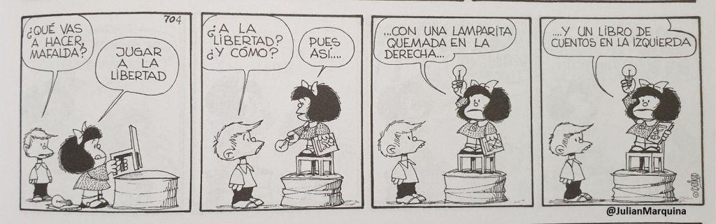 Mafalda - En la escuela aprenderemos a leer