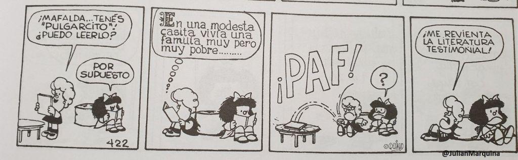 Mafalda - Literatura testimonial