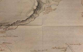 Mapa de la Bahía de la Habana Archivo General de Indias
