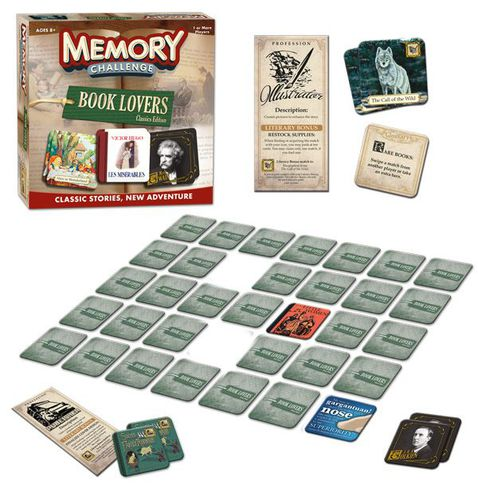 Memory Challenge Book Lovers Edition