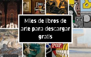 Miles de libros de arte para descargar gratis