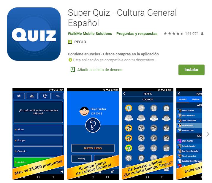 Millonario Quiz 2020