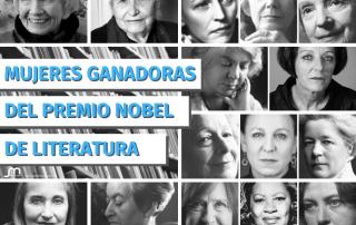 Mujeres ganadoras Premio Nobel de Literatura