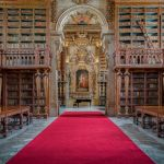 Murciélagos biblioteca Joanina Universidad Coimbra