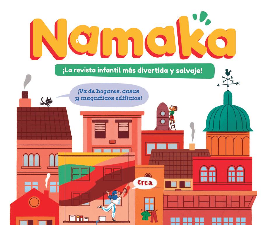 Namaka. La revista infantil más divertida y salvaje