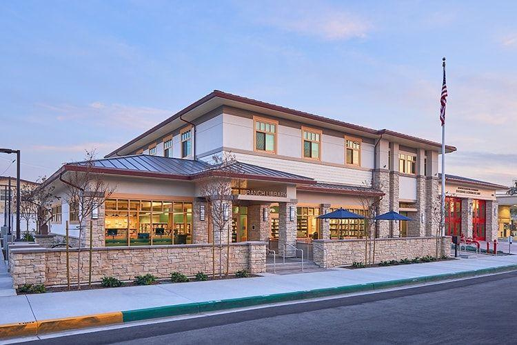 Newport Beach Public Library, Corona Del Mar branch