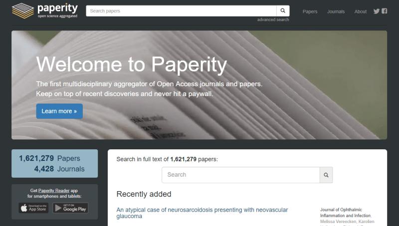 Paperity