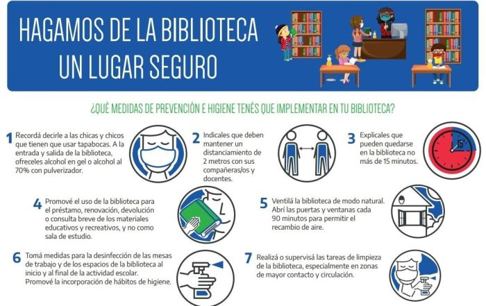 Protocolo bibliotecas escolares Argentina