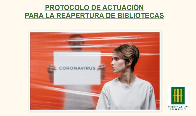 Protocolo de actuación de la AAB para la reapertura de bibliotecas