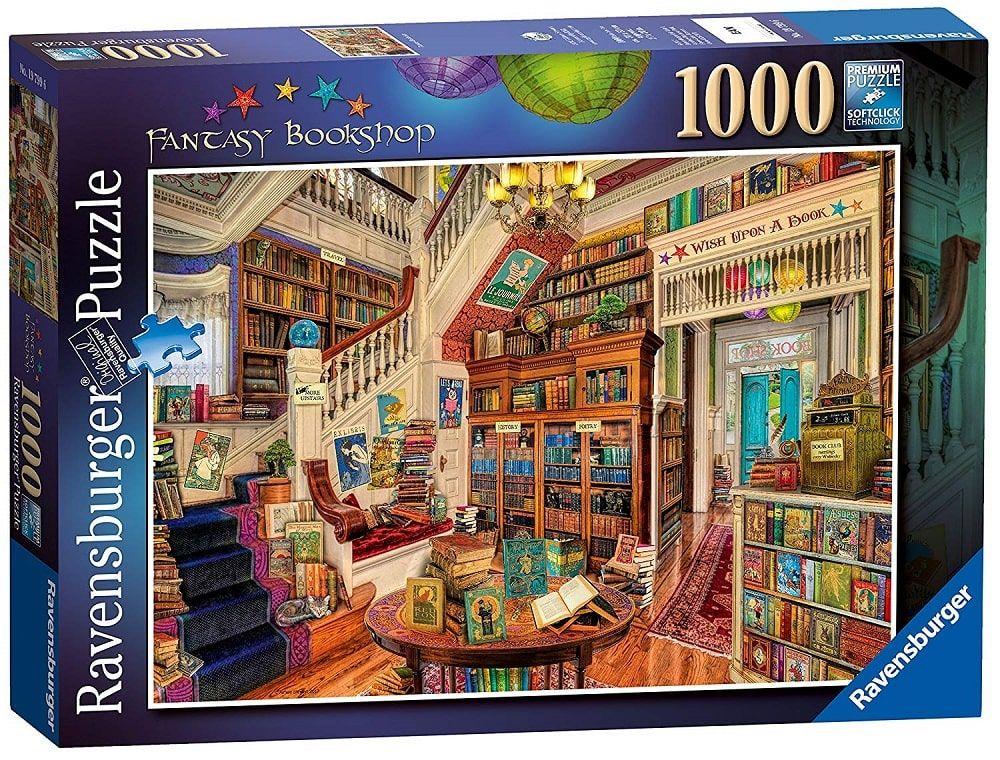 Puzzle Fantasy Bookshop