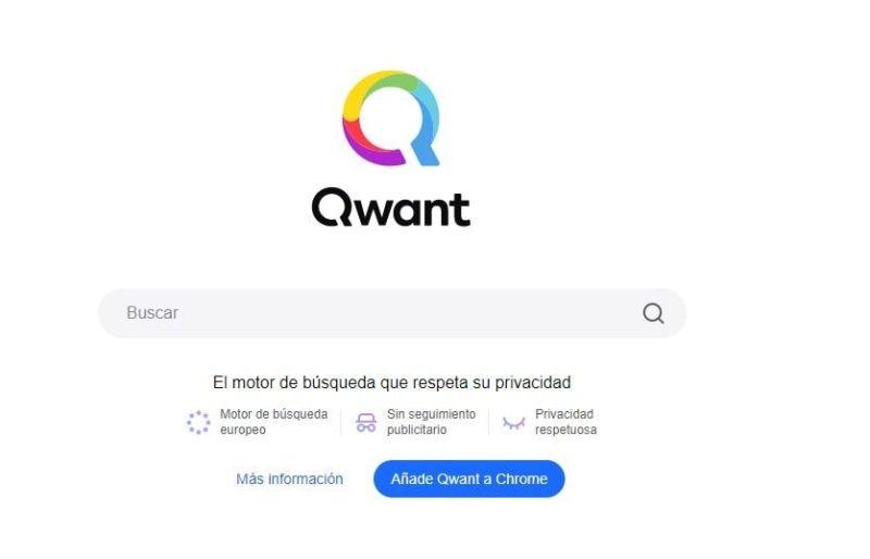 Qwant motor de búsqueda que respeta privacidad