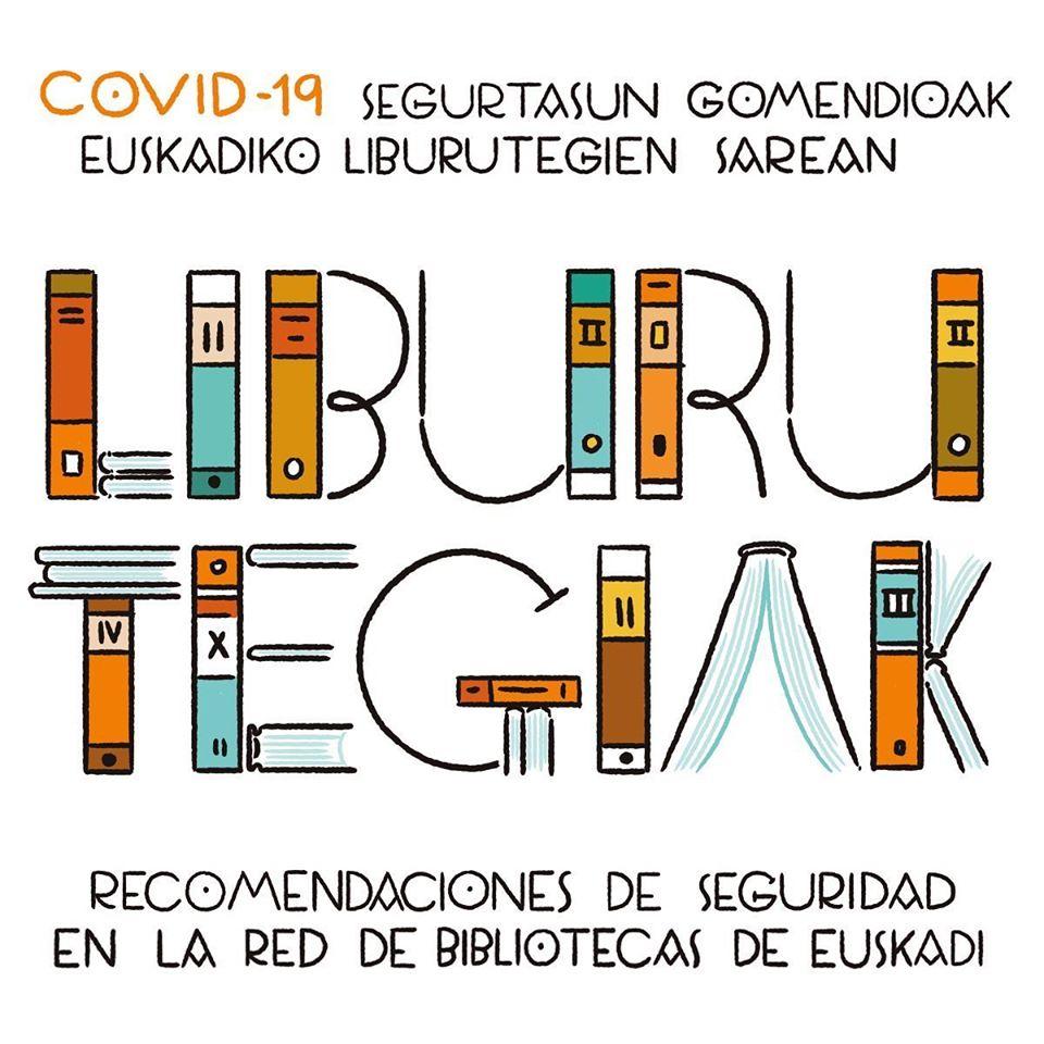 Recomendaciones de seguridad en la Red de Bibliotecas de Esukadi